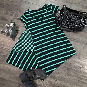 Maxi Dress, Striped Large
